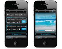 Renew SleepClock App GUI Concepts