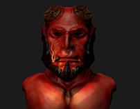 Hellboy 3D sculpt