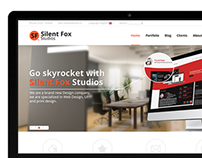 Silent Fox Studios |  Webdesign