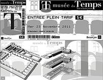 Musée du Temps Besançon - Identité Graphique