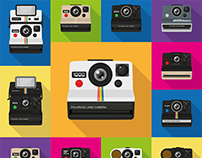 Flat : : : Polaroid