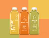 Lifehouse Immunity Gold Bottle Packaging