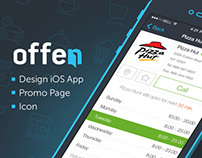 Offen Project (iPhone App, Logo, Icon, Landing Page)