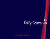 Brochure Design | Edify Overseas