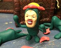FIMO work : Kobito-Dukan, Little-Hanagashira