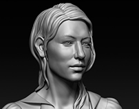 Cate Blanchett - Portrait Sculpt