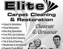 Elite Restoration Advertisement 2012