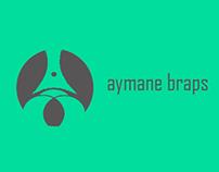 logo // aymane // braps //