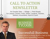 Business Newsletter Template | Modern Design