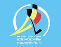 Royal Belgian Ice Hockey Logo