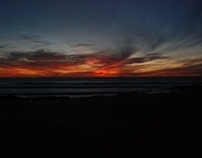 - Sunset