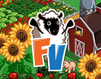 FarmVille Branded Products - FV Sheep