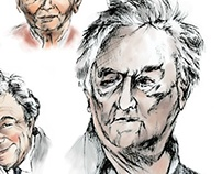 The Ravages of Aging - Peter Falk Series Portrait
