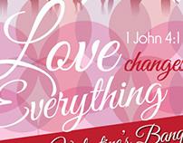 Valentine's Banquet Flyer
