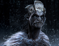 Yeti Creature - ZBrush Creature Design