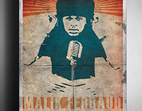 Malik Ferraud South By Southwest Concert Poster