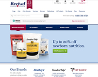 Revival Animal Health Website