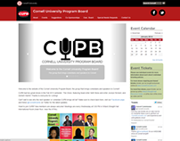 Cornell University Program Board Website