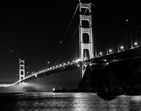 Golden Gate Bridge Night Photography