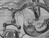 RISD Home Test (Bike Drawing)