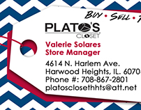 Store Manager's Business Card
