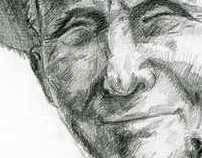 Pencil. Portrets