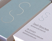 Sarah Stroschein Branding & Business Cards