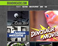 Brandonsachs.com Web Design