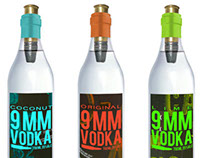 Vodka Concept Logo and Packaging