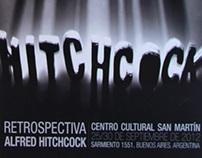 Afiche de Cine: Retrospectiva Alfred Hitchcock
