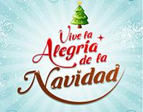 Vive la Alegria de la Navidad