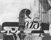 Tira Experimental tipográfica.