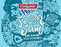 Colgate Fresh Jam
