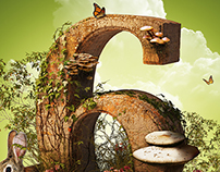 Mushroom Gathering poster