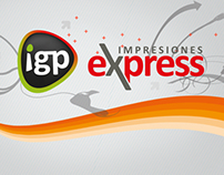 IGP Express Impresiones website