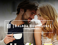 Balboa Boutiques website design