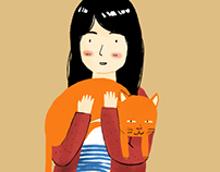 Sachii and Her Cat