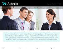 Asterisk - Web Design Sample