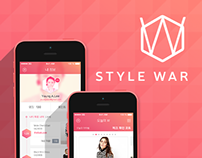 Style War App UI Design