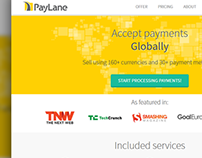 PayLane website: redesign