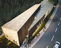 Visitors Centre - Bucegi National Park