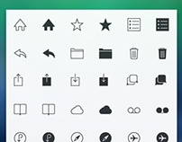 840 Hand crafted Beautiful line icons