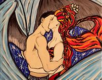 """Mermaid Paintings (Featured in """"Immersed"""")"""