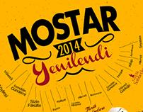 Mostar Dergisi Tanıtım Afişi