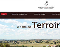 Web page Herdade do Perdigão