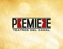 PREMIERE - Logo for Teatros del Canal