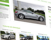 Car dealer web project proposal