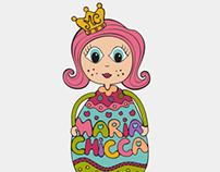 Maria Chicca Logo & Mascot