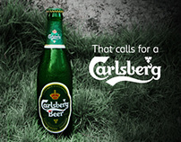That Calls for a Carlsberg