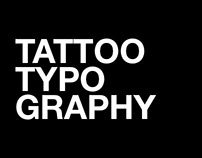 Personal – Tattoo Typography